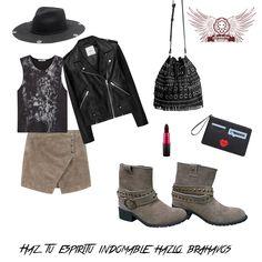 Outfit para disfrutar del fin de semana. Boots Camp Gamuza de venta en www.kichink.com/stores/brahavoscalzado