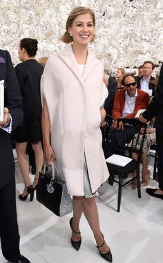 Rosamund Pike from Paris Haute Couture Fashion Week 2014: Star Sightings | E! Online