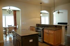 Open Kitchen And Living Room   kitchen open to dining and living room   Colorado Mountain Realty
