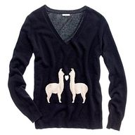 I really, really want this sweater. But I think it's an original and my knitting skills are not up for this kind of undertaking.