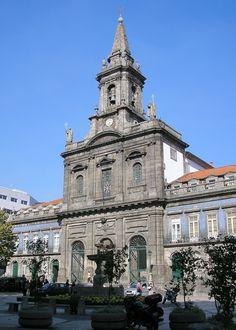 Trindade Church, Porto #Portugal
