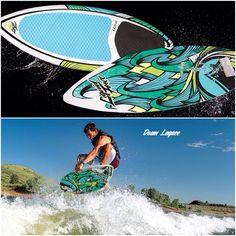 2014 LF Doum Skim Wake Surfer