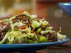 Get Healthy and Flavor-Filled Soba Salad Recipe from Food Network