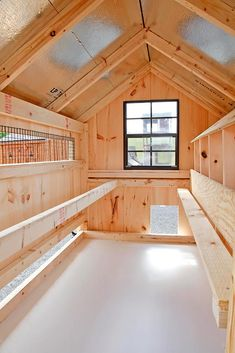 Chicken Coop - A-Frame 4x6 chicken coop (up to 15 chickens) from My Pet Chicken Building a chicken coop does not have to be tricky nor does it have to set you back a ton of scratch.