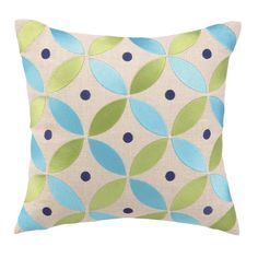 I pinned this Boho Pillow in Ultramarine from the Preppy & Plush event at Joss and Main!