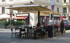 Solero Sonnenschirme Gastroschirme. Maßanfertigung Do & Co Wien Street View, Fine Dining