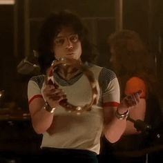 Bohemian Rhapsody is a movie starring Rami Malek, Lucy Boynton, and Gwilym Lee. The story of the legendary British rock band Queen and lead singer Freddie Mercury, leading up to their famous performance at Live Aid Rami Malek Freddie Mercury, Queen Freddie Mercury, Caroline Dhavernas, I Movie, Movie Stars, Freddie Mecury, Queen Movie, Queen Ii, Ben Hardy