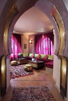 Ideas para una decoración Marroquina