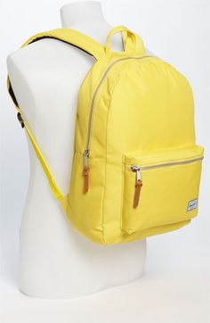 Yes, backpacks are a fashion.