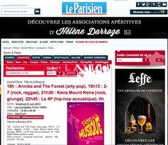 @Le Parisien announces concert