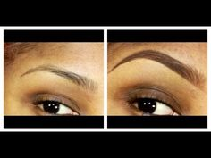 MY EYEBROW ROUTINE FOR 2013! - (EYEBROW TUTORIAL)