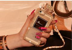 Minali® Luxury Bling Bow Case | Gorgeous iPhone 6 Case with Detachable Shoulder Strap | Only $29.95 With FREE SHIPPING!