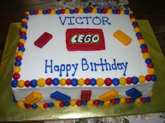 Lego Cake - BC with Candy Melts used for the Lego Blocks