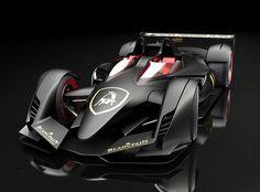 Lamborghini PML-F Formula 1 Conceptv F1 Grand Prix