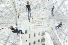 Galeria - Instalação 'In Orbit' / Tomás Saraceno - 2