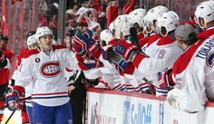 Canadian clubs help NHL post big ratings in first round of playoffs (Jana Chytilova/Getty Images) Montreal Canadiens, First Period, Of Montreal, Golden Knights, First Round, Ottawa, Nhl, Hockey, First Love
