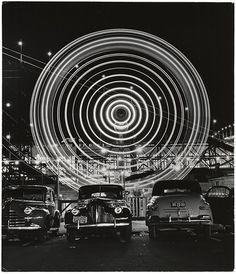 Andreas Feininger, Ferris wheel 1949