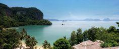 View of Phang Nga Bay from The Paradise Koh Yao, Phuket, Thailand