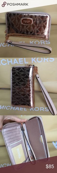 Michael Kors Wristlet 100% Authentic Michael Kors Wristlet, brand new with tag! Michael Kors Bags Clutches & Wristlets