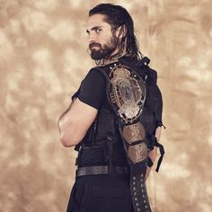 Seth Freakin' Rollins! That old school championship though