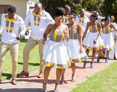 "Tshepi on Instagram: ""Step game on 1000%. Best bridal party ever. Day 1 of 2! #TshepoWedsRachel"""