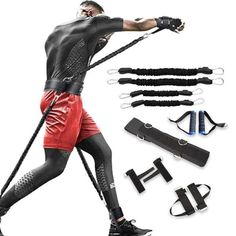 Boxing Resistance Bands Agility Workouts, Gym Workouts, Cardio, Condition Physique, Physical Skills, Ultimate Workout, Resistance Band Exercises, Upper Body, No Equipment Workout