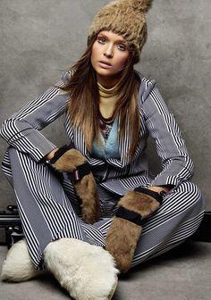 Bellow Zero: Josephine Skriver Stars in Vogue Spain January 2017 Issue