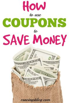 Looking to save money? Coupons are one of the easiest and fastest ways to save money! How To Start Couponing, Couponing For Beginners, Extreme Couponing, Ways To Save Money, Money Tips, Money Saving Tips, How To Make Money, Frugal Living Tips, Frugal Tips