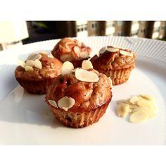 Sunde Banan muffins med peanut butter, chokolade og banan! – Musclehouse.dk