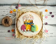 (8) Однокласники Easter Cookies, Sugar Cookies, Gimme Some Sugar, Holidays And Events, Cookie Decorating, Gingerbread Cookies, Food And Drink, Bunny, Crack Crackers