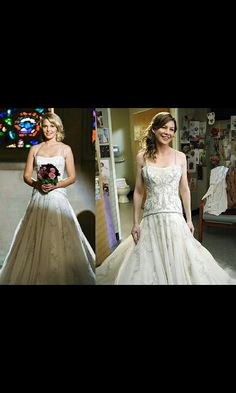 Dress from Greys Anatomy....WANT for my wedding!!