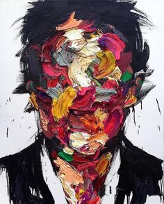 """Gefällt 2,296 Mal, 13 Kommentare - Costas Voyatzis (@yatzer) auf Instagram: """"#yatzer_Inspiration... Untitled by South Korean painter Shin Kwangho #kwanghoshin #contemporaryart"""""""