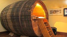 You Can Do it Youself: A Beer Barrel Made Into A Bed