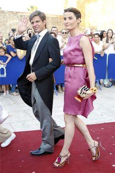 Julián López 'El Juli' y Rosario Domecq acompañan a Alejandro Talavante en el día de su boda