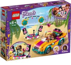 Shop LEGO Friends Andrea's Car & Stage 41390 at Best Buy. Find low everyday prices and buy online for delivery or in-store pick-up. Legos, Roxy, Lego Friends Sets, Shop Lego, Toy Cars For Kids, All Lego, Lego Toys, Lego Models, Creative Play