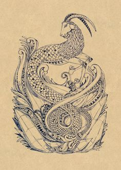Capricorn the elegant Sea Goat