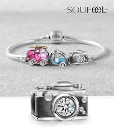 Travel Memories Bracelet 925 Sterling Silver. SOUFEEL Jewelry, For Every Memorable Day