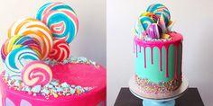 Katherine Sabbath's Tips for Making Neon Drip Cakes - Fun Cake Decorating Ideas