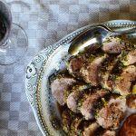 Provencal Roasted Pork Tenderloin