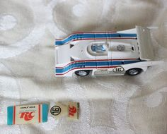 AFX RC Cola Porsche 917-10 Square Nose Slot Car