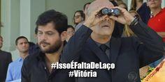 """Da serie """"isso é falta de laço""""... #IssoEFaltaDeLaco #AndreDiMauro #Jorge #Vitoria #NovelaVitoria #MemesJorge"""
