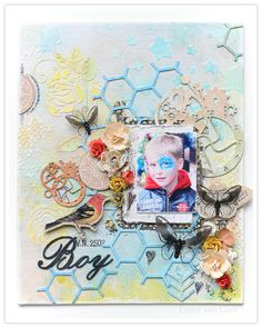 Boy {GDT Lindy's Stamp Gang} - Scrapbook.com