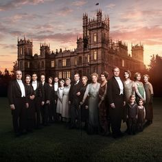 downtonabbey_official | Welcome to #Series6 of #Downton Abbey.
