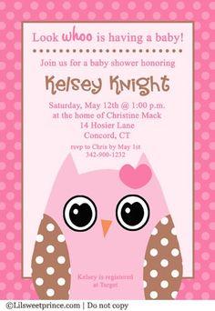 owl themed shower invitations girl owl baby shower invitations pink owl baby shower ideas 349x507