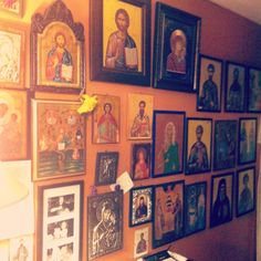 """I want a few more icons to put up in my room - I have two, and I love them - if you google """"religious icons"""" a bunch come up!"""
