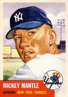 Browse the top 10 Mickey Mantle Baseball Cards of all-time. Mickey Mantle cards remain the seller in the hobby. Old Baseball Cards, Baseball Star, New York Yankees Baseball, Ny Yankees, Baseball Players, Damn Yankees, Baseball Photos, Baseball Classic, Mlb Players