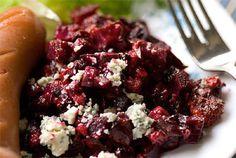 Punajuuri-aurajuustovuoka :: reseptit :: karppaus.info