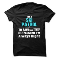 awesome  Love being -- SKI-PATROL at Topdesigntshirt  Check more at http://topdesigntshirt.net/camping/new-tshirt-sport-love-being-ski-patrol-at-topdesigntshirt.html