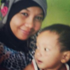 Mama dan Abid...