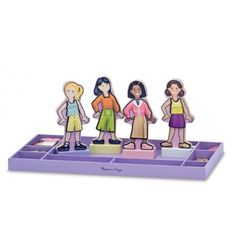 Best Friends Forever Magnetic Dress Up Set is perfect for those wanting to play with friends! This set is also perfect for travel, with the included storage box. Kids Store, Toy Store, Balloon Toys, Designer Kids Clothes, Melissa & Doug, School Memories, Wooden Dolls, Best Friends Forever, Daughter Love